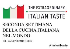 """La Promo Civitas presente alla """"II° Settimana della cucina italiana nel mondo – The Extraordinary Italian Taste"""""""