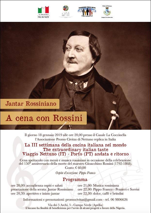 The Extraordinary Italian Taste: Viaggio Nettuno (IT) - Porto (PT) andata e ritorno: locandina